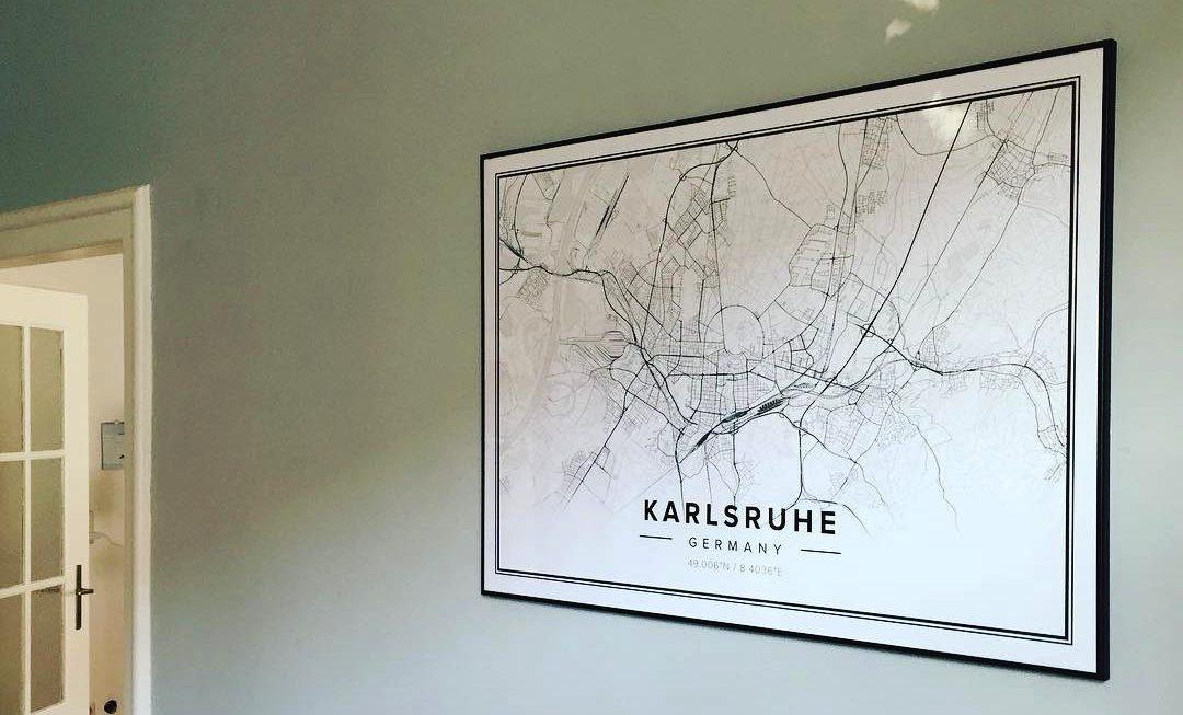 Karlsruhe mapified
